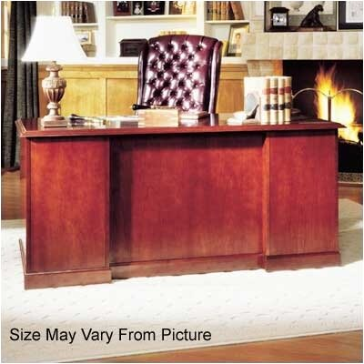 High Point Furniture Legacy Single Pedestal Veneer Executive Desk