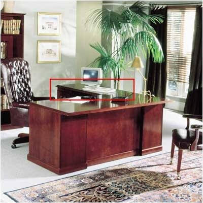 "High Point Furniture Legacy 48""W Desk Height Veneer Return"