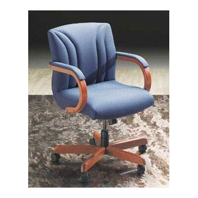 High Point Furniture Mid-Back Managerial Chair with Arms
