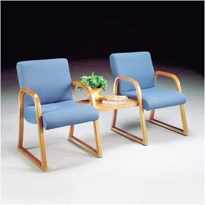 High Point Furniture Scoop Ganging Sled Base Guest Arm Chairs (Set of 2)