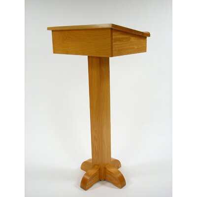 Executive Wood Products Pedestal Speaker Stand