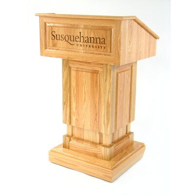Executive Wood Products Counselor Full Podium