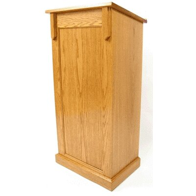 Executive Wood Products Deluxe Full Pedestal Lectern