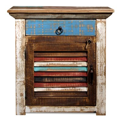 CasaMia Laredo 1 Drawer Nightstand