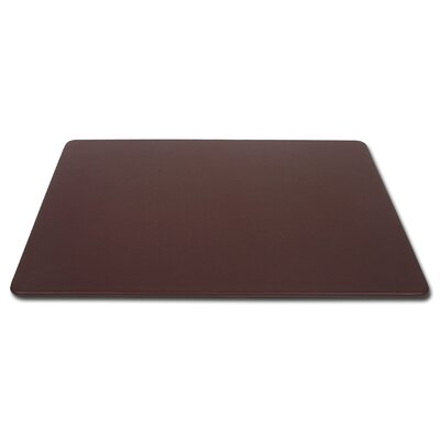 Dacasso 1000 Series Classic Leather 17 x 14 Conference Pad in Chocolate Brown