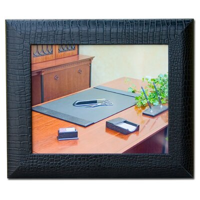 2000 Series Crocodile Embossed Leather Picture Frame