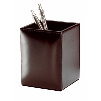 Dacasso Bonded Leather Pencil Cup