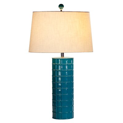 "Ziqi Home Vivid 2 Nolan 29"" H Table Lamp with Oval Shade"