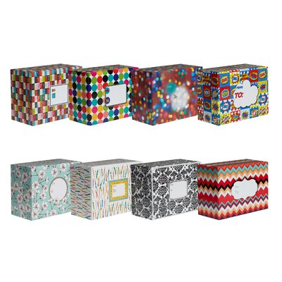 Jillson & Roberts Decorative Mailing Box (8 Piece)