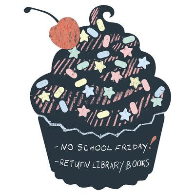 WallCandy Arts Cupcake Chalkboard