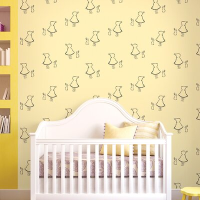 WallCandy Arts Bunny Up Figural Wallpaper