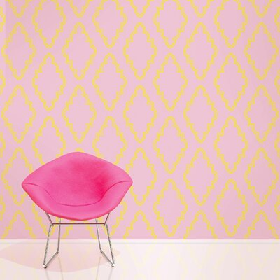 WallCandy Arts Quatrefoil Wallpaper
