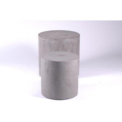 Urbia Mixx 2-Piece Una Pedestals End Table Set