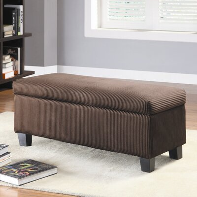 Clair New Fabric Bedroom Storage Ottoman