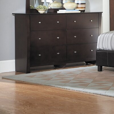 Woodbridge Home Designs Avelar 6 Drawer Dresser