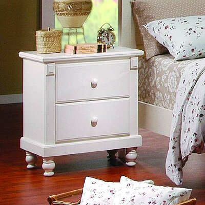 <strong>Woodbridge Home Designs</strong> 875 Series 2 Drawer Nightstand