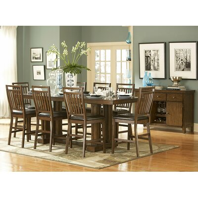 Woodbridge Home Designs 5381 Series 9 Piece Counter Height Dining Set