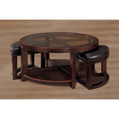 Woodbridge Home Designs 3219 Series Coffee Table With 2