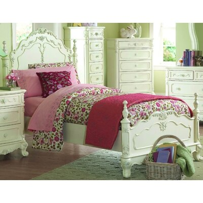 Woodbridge Home Designs 1386 Series Panel Bed