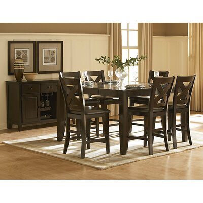 Woodbridge Home Designs Crown Point Counter Height Dining Table