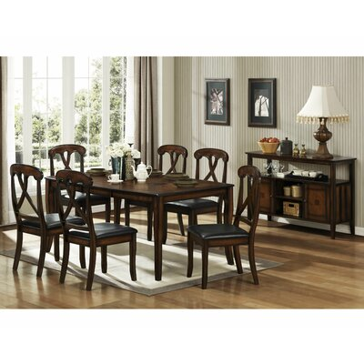 Woodbridge Home Designs Kinston 7 Piece Dining Set