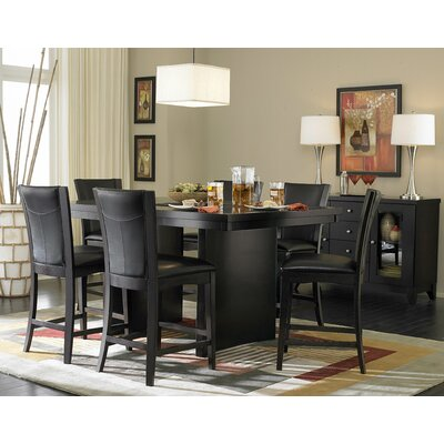 Woodbridge Home Designs Daisy 7 Piece Counter Height Dining Set