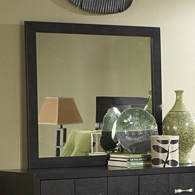 Woodbridge Home Designs 1477 Series Rectangular Dresser Mirror