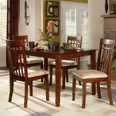 Woodbridge Home Designs Benford 5 Piece Dining Set