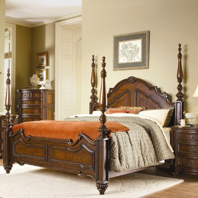 Woodbridge Home Designs Prenzo Four Poster Bed