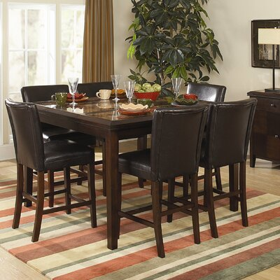 Belvedere 7 Piece Counter Height Dining Set