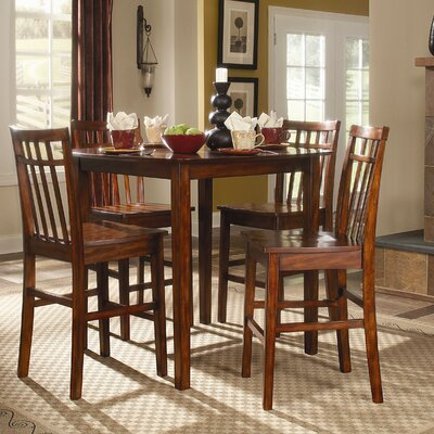 Woodbridge Home Designs Benford 5 Piece Counter Height Dining Set