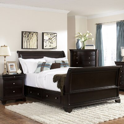 Woodbridge Home Designs Inglewood Sleigh Bedroom Collection