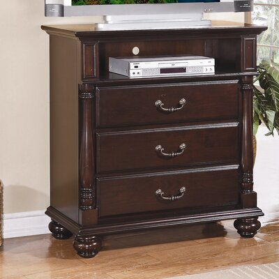 Townsford 3 Drawer Media Chest