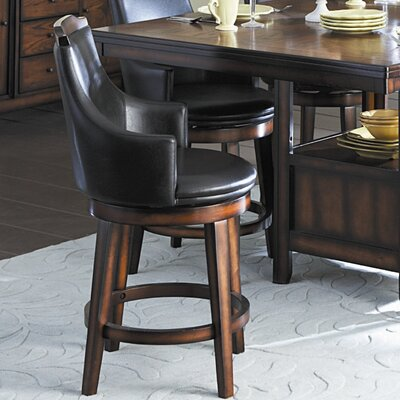 Woodbridge Home Designs Bayshore Swivel Counter Height Chair