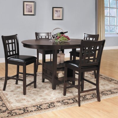 Woodbridge Home Designs Junipero 5 Piece Counter Height Dining Set