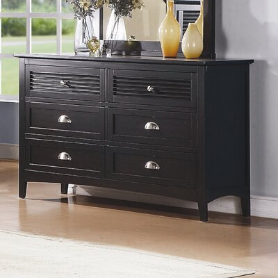 Woodbridge Home Designs Robinson 6 Drawer Dresser
