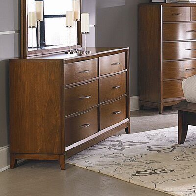 Woodbridge Home Designs Kasler 6 Drawer Dresser