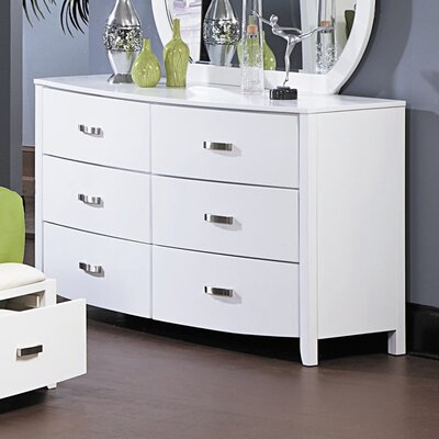 Woodbridge Home Designs Lyric 6 Drawer Dresser