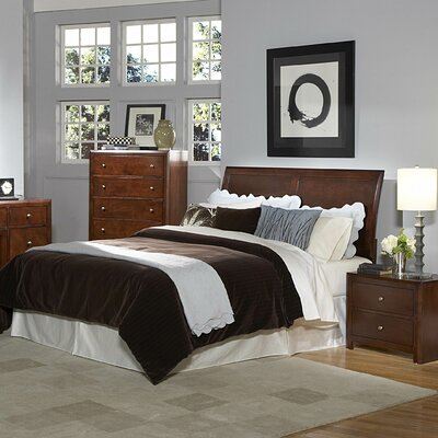 Woodbridge Home Designs Copley Sleigh Headboard Bedroom Collection