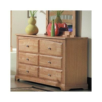 Woodbridge Home Designs 827 Series 6 Drawer Dresser