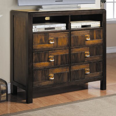 Woodbridge Home Designs Brumley 6 Drawer Media Chest