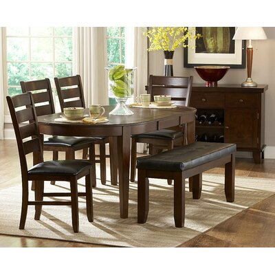Woodbridge Home Designs Ameillia 6 Piece Dining Set