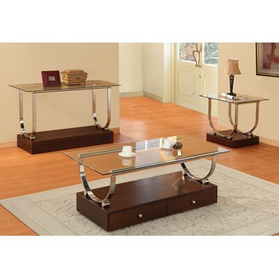Woodbridge Home Designs Quigley Coffee Table Set