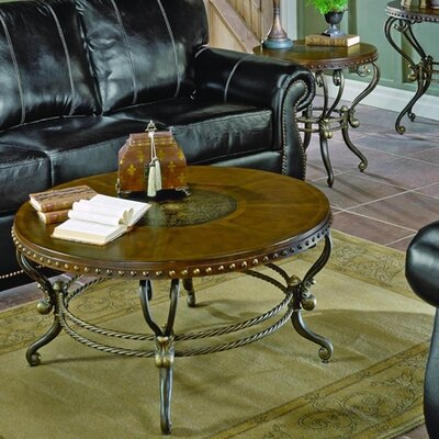 5553 Series Pedestal Coffee Table Set