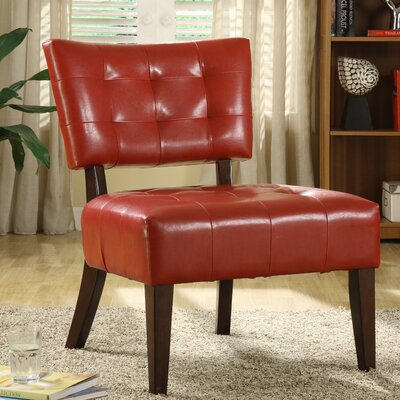 Warner Vinyl Slipper Chair