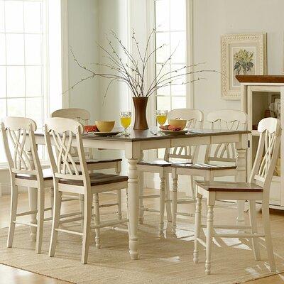 Woodbridge Home Designs Ohana 7 Piece Counter Height Dining Set