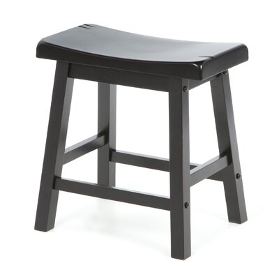5302 Series Stool in Black Sand-Through