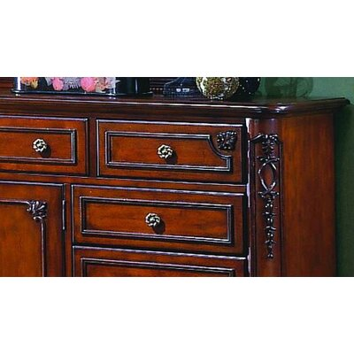Woodbridge Home Designs 1385 Series 9 Drawer Dresser