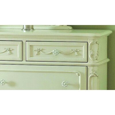 Woodbridge Home Designs 1386 Series 7 Drawer Dresser
