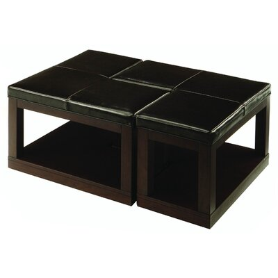 "Woodbridge Home Designs 3250 Series ""L"" Ottoman Coffee Table"